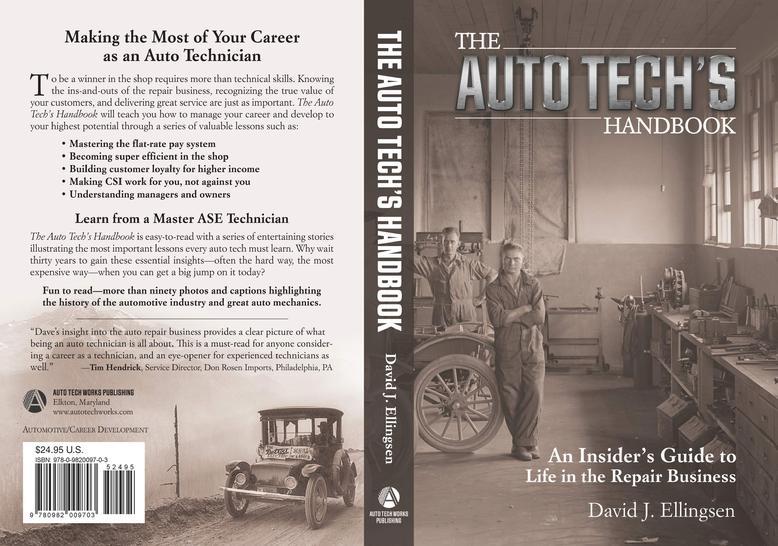 The Auto Tech's Handbook ISBN 978-0-9820097-0-3