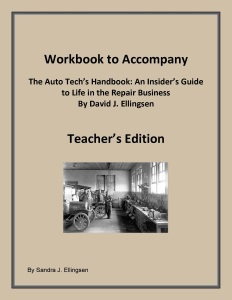 Workbook to Accompany, The Auto Tech's Handbook